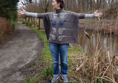 Heron Boxy Sweater (on Ravelry