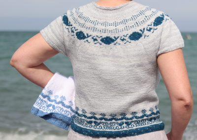 Happy Ocean Top (on Ravelry)
