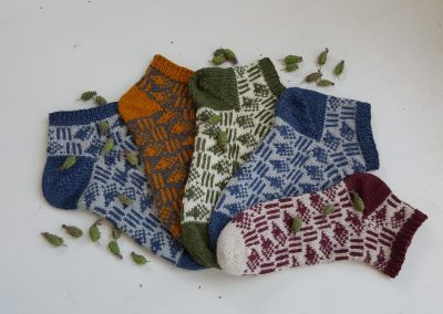 Hedgehog Socks (on Ravelry)